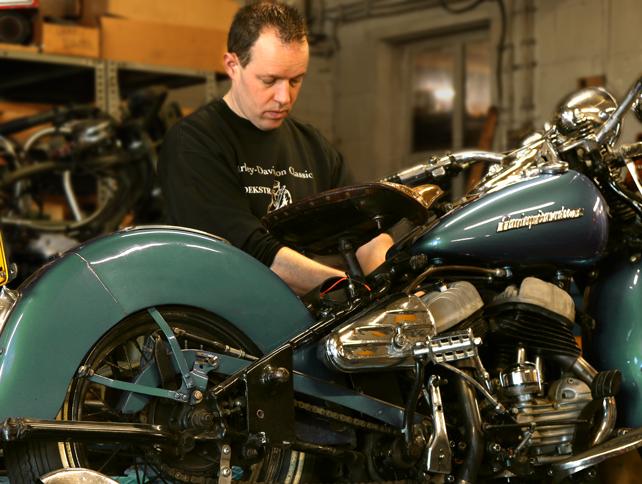 antieke motoren